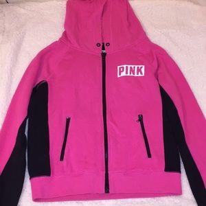 PINK Victoria Secret Zip Up with Hood
